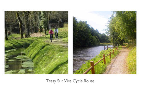 Tessy Sur Vire Cycle Route